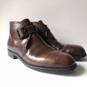 Nettleton • Mens Leather Ankle Boots